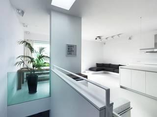 Living room by Sieckmann Walther Architekten