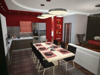 Modern Dining Room by Гурьянова Наталья Modern