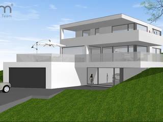 Casas de estilo  por 2P-raum® Architekten