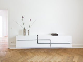 Ludwig + Nied GbR Living roomShelves