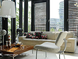 Andras Koos Architectural Interior Design Вітальня