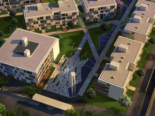 Wohnanlage Güzelbiryer:   von asp Architekten Stuttgart