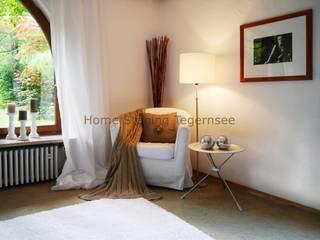 Sala de estar  por Home Staging Tegernsee