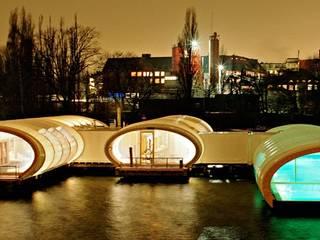Yates y jets de estilo  por Wilk-Salinas Architekten BDA