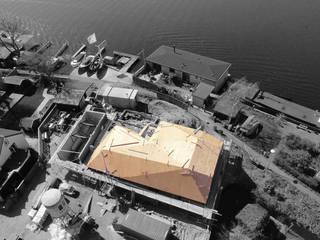villa aan het spaarne Landelijke huizen van derksen|windt architecten Landelijk