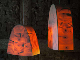 Christian Masche Holz Design Skulptur Living roomLighting