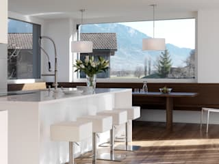 Cocinas de estilo moderno de LEICHT Küchen AG Moderno