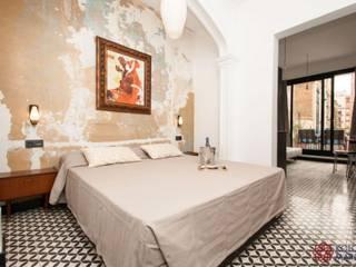 Kolory Maroka의  침실, 지중해