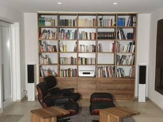 Schreinerei Deml GmbH Ruang keluarga: Ide desain interior, inspirasi & gambar