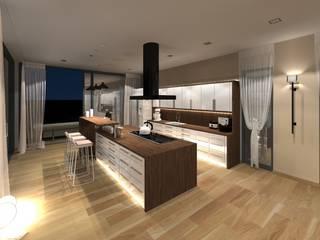 visualisierungen Küche von innenarchitektur s. kaiser