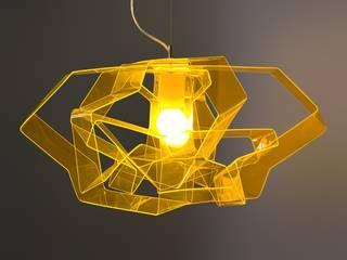 Designerlampe Acryl Lasso Gold:   von Design. Nachhaltig. Gut.