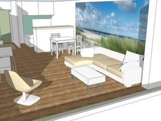 Ferienwohnung an der Ostsee Skandinavische Wohnzimmer von Raumplanung online Skandinavisch