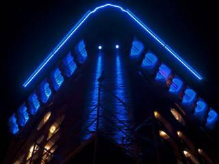 Wasserturm am Schlachthof Industriale Museen von ligthing & interior design Industrial