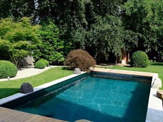 Jardines modernos: Ideas, imágenes y decoración de Kirchner Garten & Teich GmbH Moderno