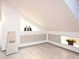 Projekty,  Salon zaprojektowane przez schulz.rooms