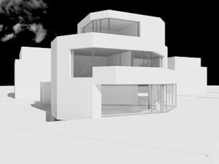MMR Haus Moderne Häuser von Hackenbroich Architekten Modern
