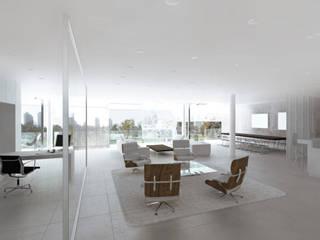 Modern Living Room by Hackenbroich Architekten Modern