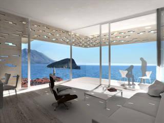 Budva Centre Moderne Wohnzimmer von Hackenbroich Architekten Modern