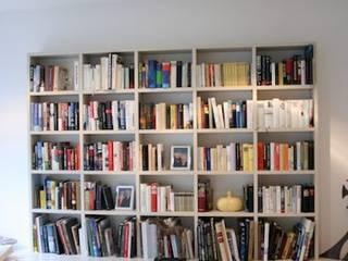 Library Frankfurt Klassische Wohnzimmer von Tatjana von Braun Interiors Klassisch