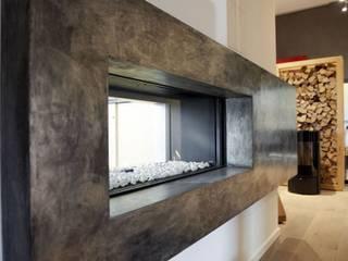Living room by Wandkult