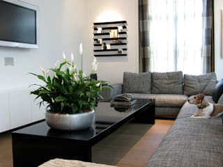 Country style living room by Marike Country