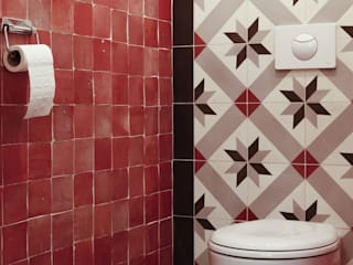 Bathroom by Kolory Maroka, Mediterranean