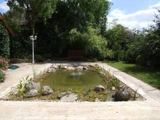 Vom Pool zum Naturteich Moderner Garten von Schönberg. Pflanzdesign Modern