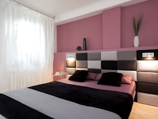 Спальни в . Автор – schulz.rooms