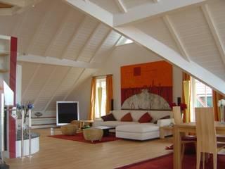 Ferienhaus Nordsee:  Wohnzimmer von made by S / creativport hamburg