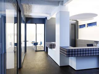 KFS: Umbau Fabriketage/ Lichtfabrik Kohlfurter Strasse, Berlin Kreuzberg a-base I büro für architektur Ausgefallene Geschäftsräume & Stores