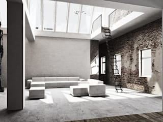 marc benjamin drewes ARCHITEKTUREN Living room