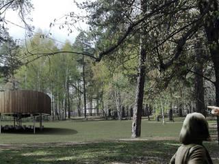 Pavillon für die Kunst: modern  von marc benjamin drewes ARCHITEKTUREN,Modern