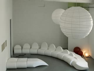 dino sofa:  in stile  di Central Unit Design