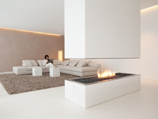 Modern living room by HI-MACS® Modern