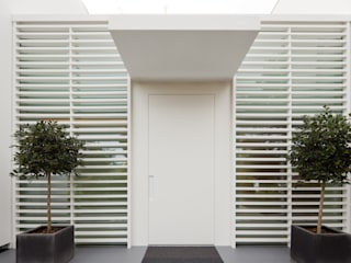 Modern windows & doors by HI-MACS® Modern