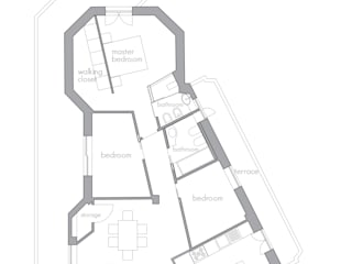 CAFElab studio Casas de estilo moderno