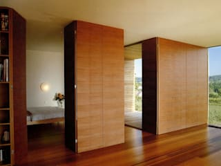 Hochbuch Moderne Wohnzimmer von k-m architektur Modern