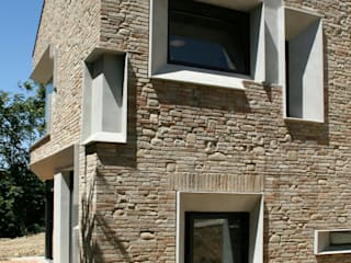 인더스트리얼 주택 by Fabio Barilari Architetti 인더스트리얼