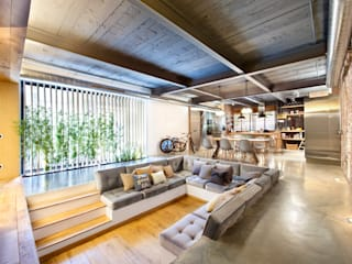 Living room by Egue y Seta, Rustic