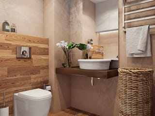 Angelina Alekseeva Minimalist style bathrooms
