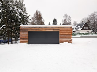 Garage/shed by REICHEL SCHLAIER ARCHITEKTEN GMBH