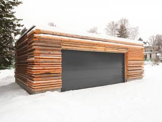Projekty,  Garaż zaprojektowane przez REICHEL SCHLAIER ARCHITEKTEN GMBH
