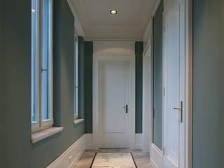 Couloir, entrée, escaliers classiques par CG VOGEL ARCHITEKTEN Classique