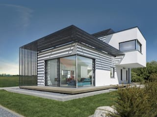 Modern houses by LUXHAUS Vertrieb GmbH & Co. KG Modern