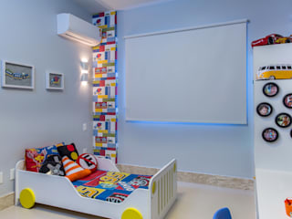 Milla Holtz & Bruno Sgrillo Arquitetura Modern Kid's Room