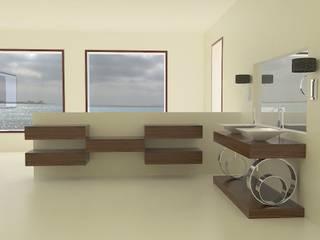 Bathroom by MUMARQ ARQUITECTURA E INTERIORISMO, Eclectic