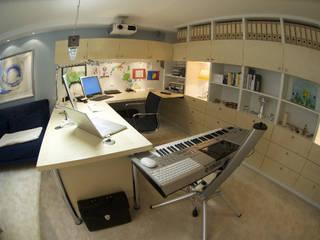 書房/辦公室 by Innenarchitektin Claudia Haubrock, 北歐風