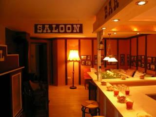 Westernsaloon auf einem Ponyhof:  Kinderzimmer von Innenarchitektin Claudia Haubrock,Landhaus