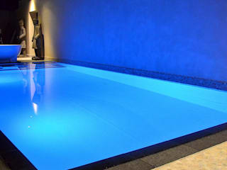 Orienteal spa: asiatischer Pool von RON Stappenbelt, Interiordesign