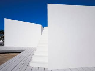 Terrazza in stile  di OFFICE OF ARCHITECTURE IN BARCELONA SLP (OAB)